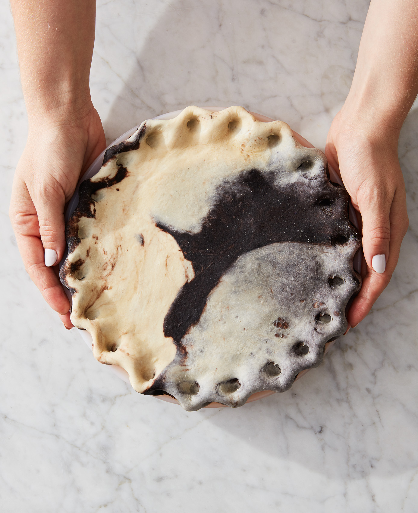 CH2_Top-Crust-Options-1-Marbled-Dough_erin-mcdowell_book-on-pie_2019-11-04_mark-weinberg_1018